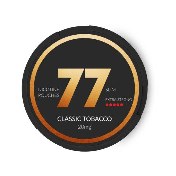 снюс 77 табачный